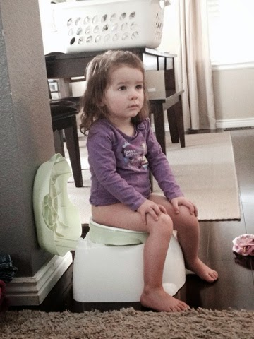 Watching a Movie on the potty
