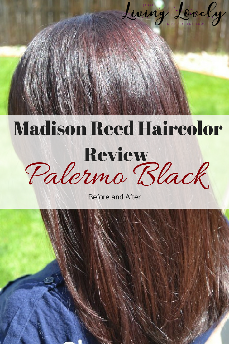 Looking to try an amazing at home hair coloring brand? See my before and after with Madison Reed Palermo Black (complete with before and after photos)