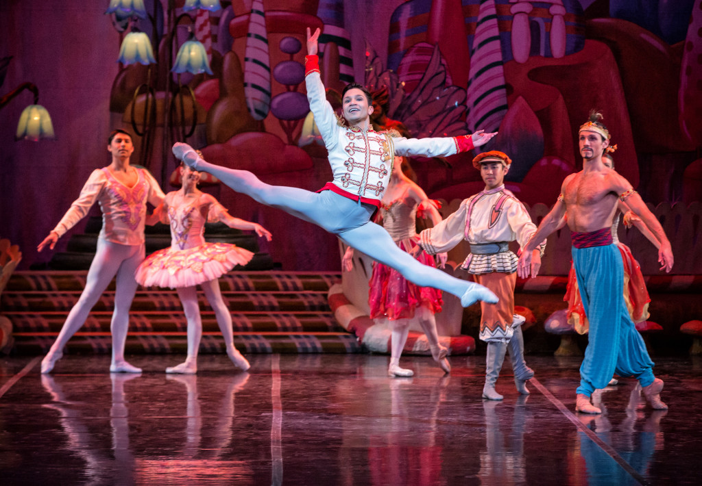 Yosvani Ramos and Artists of Colorado Ballet by Mike Watson