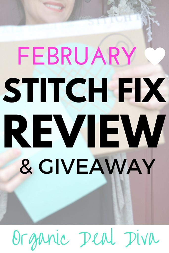 STITCH FIX REVIEW & GIVEAWAY