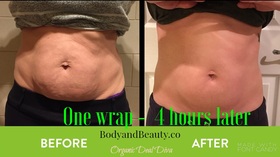 1 ItWorks Wrap, 4 hours later