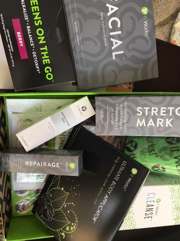 ItWorks box of product