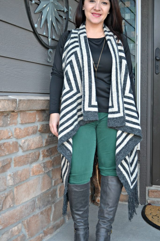 Love by Design Borris Striped Cardigan