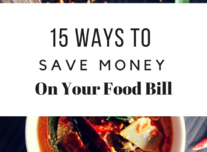 15 ways to save money on your food bill