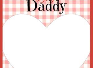 Happy Valentine's Day Daddy Card