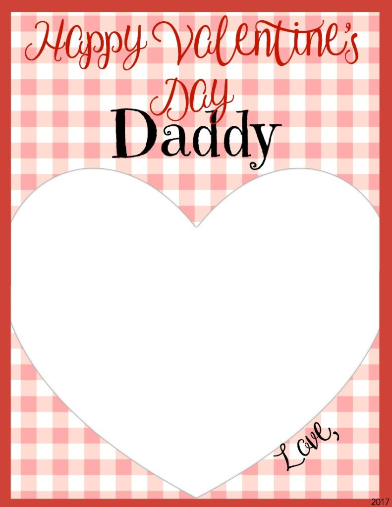 Happy Valentine's Day Daddy Card