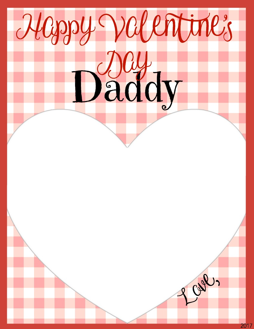Happy Valentineu0027s Day Daddy Card