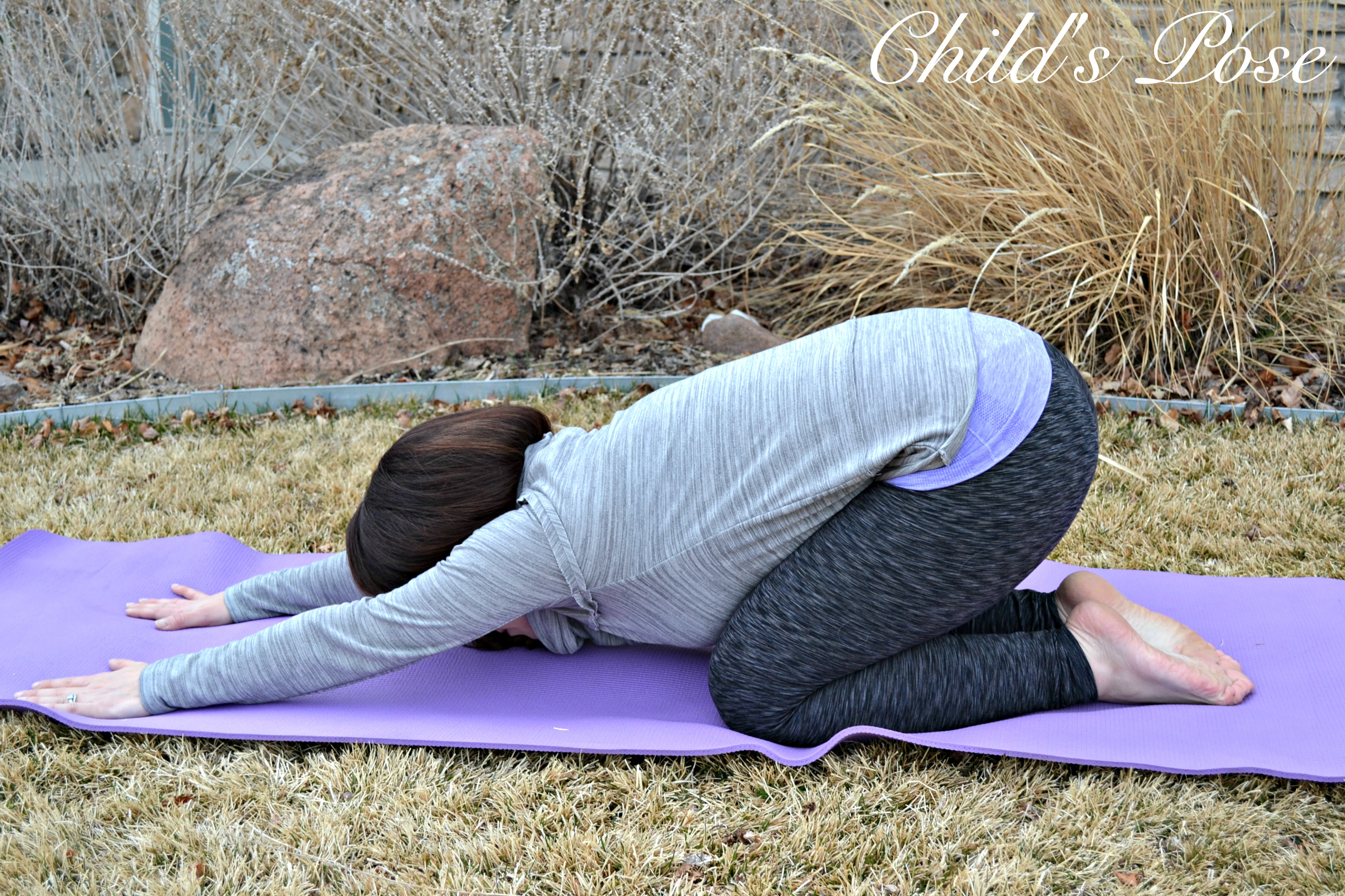 Childs Pose - Yoga for Back Pain + Curamin