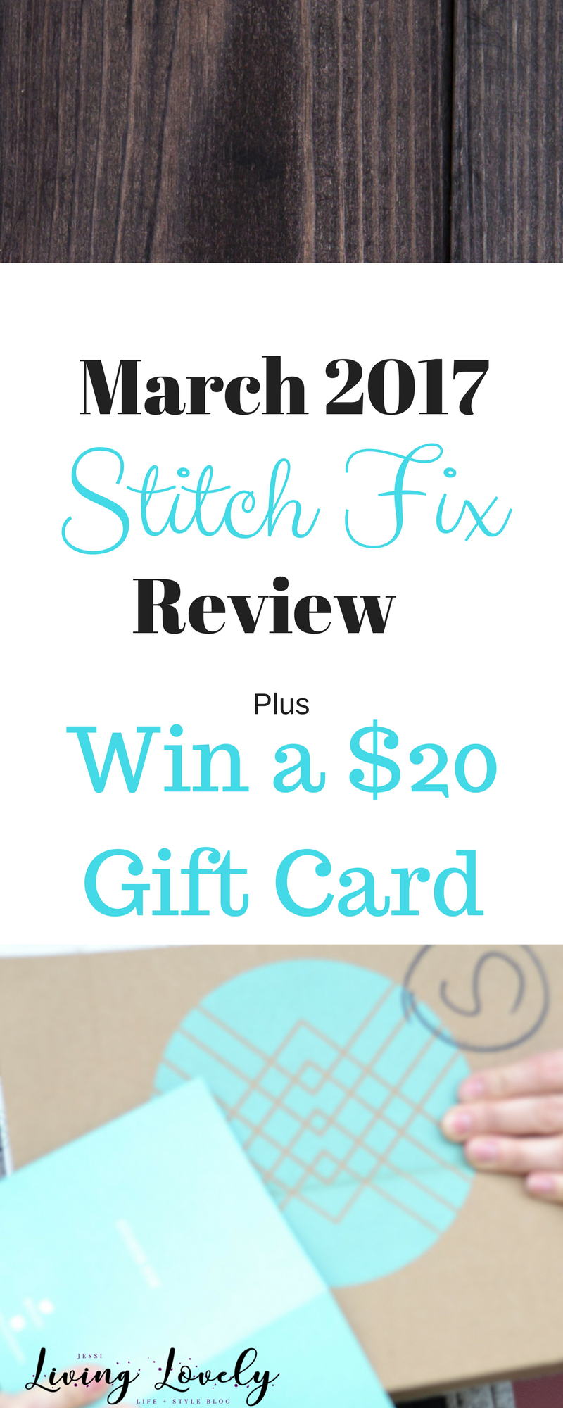 See what cute items I got in my March 2017 Stitch Fix (box #20 for me!) Also enter to win a $20 Stitch Fix Gift Card