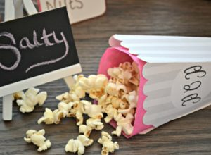 Printable Popcorn Boxes - JessiLivingLovely
