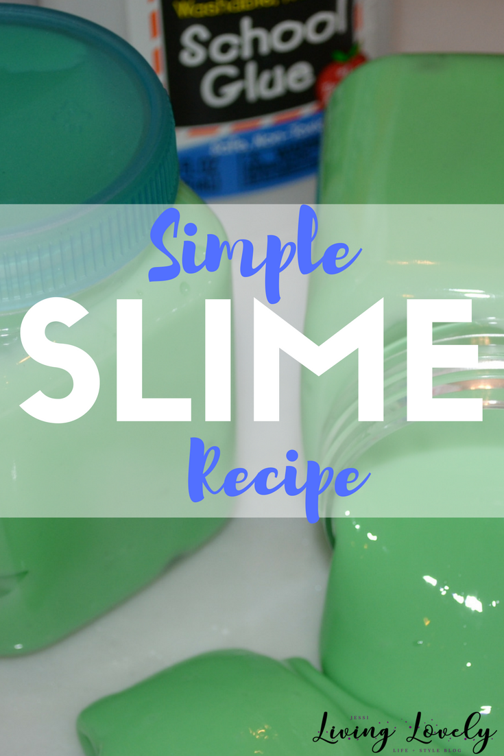 Looking for an easy slime recipe to make at home?  Follow these simple steps for a no-fail made at home SLIME RECIPE