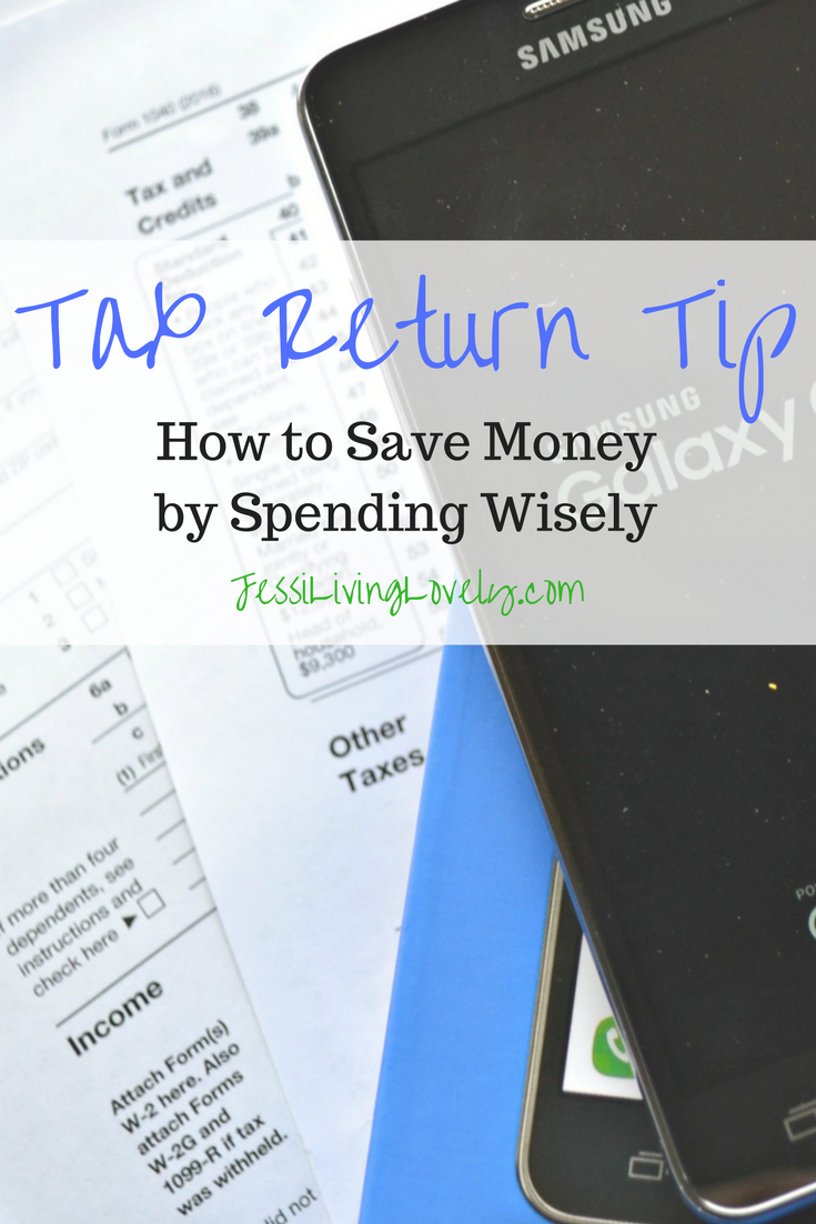 Tax Return Tip - How to Save money by Spending Wisely: