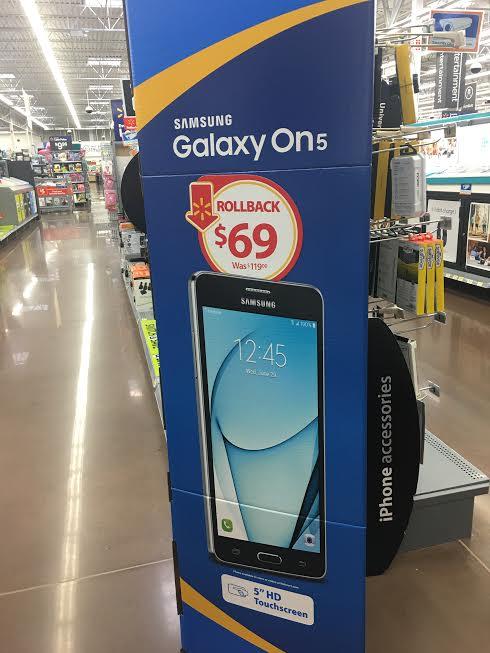 Galaxy On5 On Rollback
