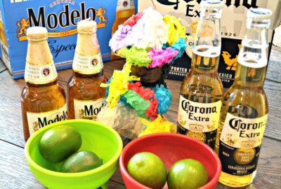 Modelo and Corona