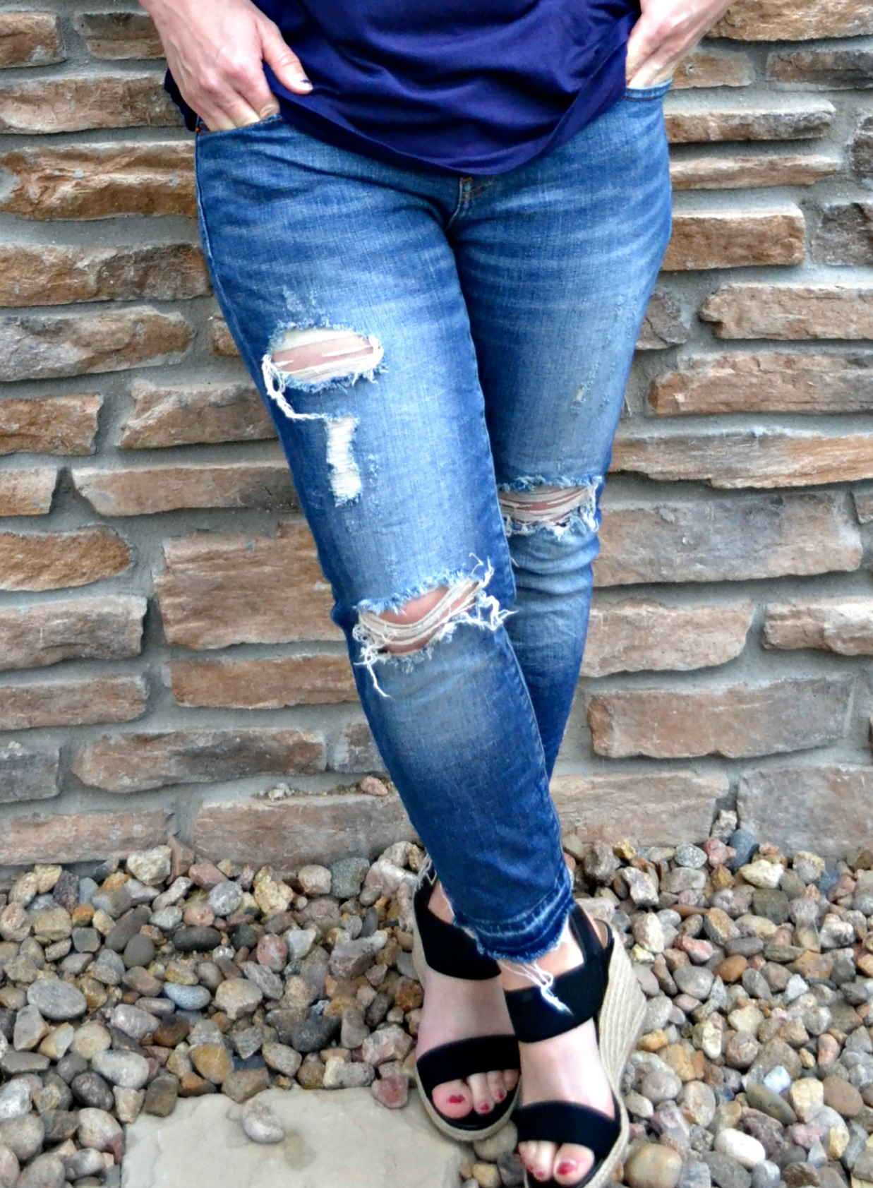 My favorite Jeans and Wedges