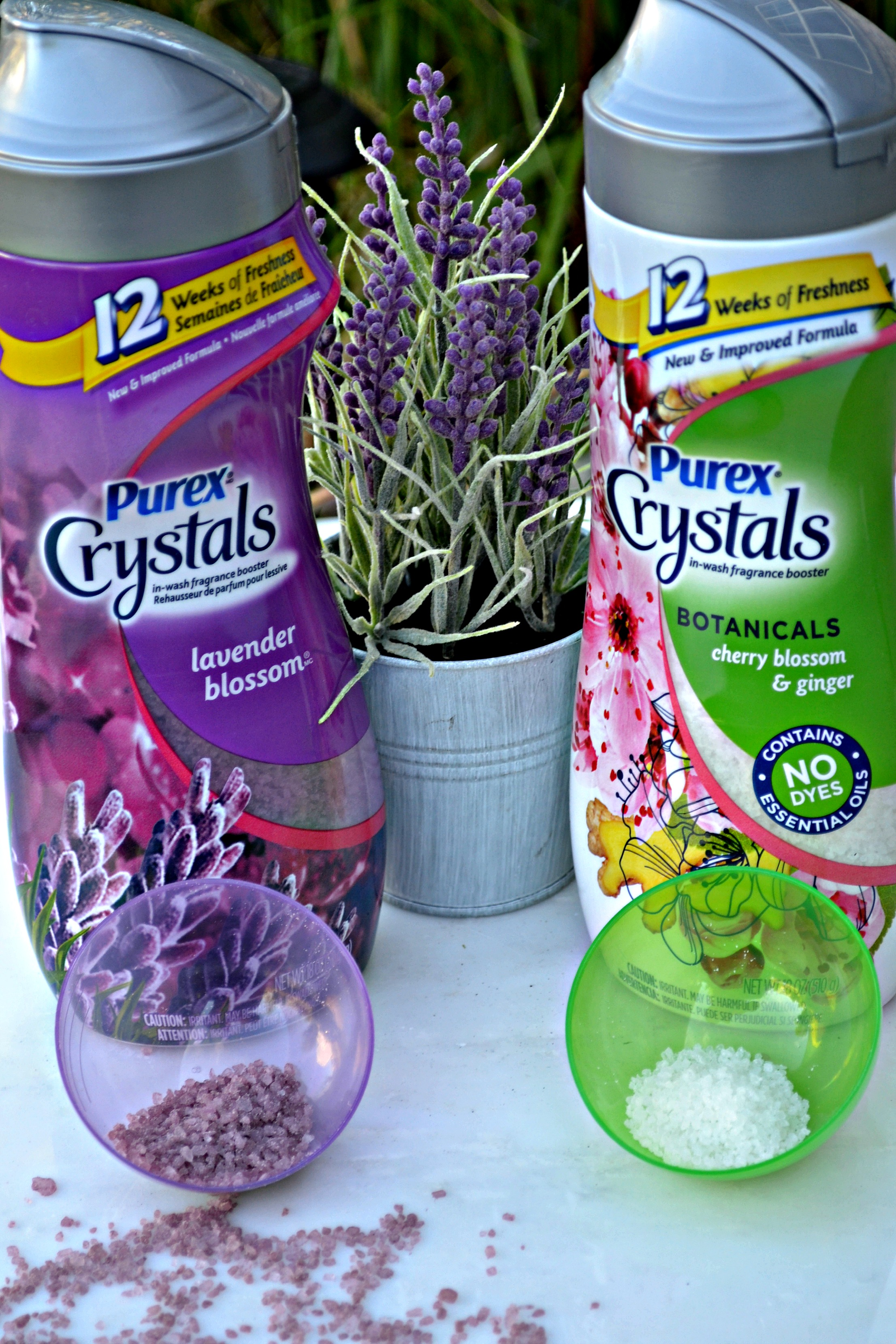 12 weeks of Fresh with Purex Crystals