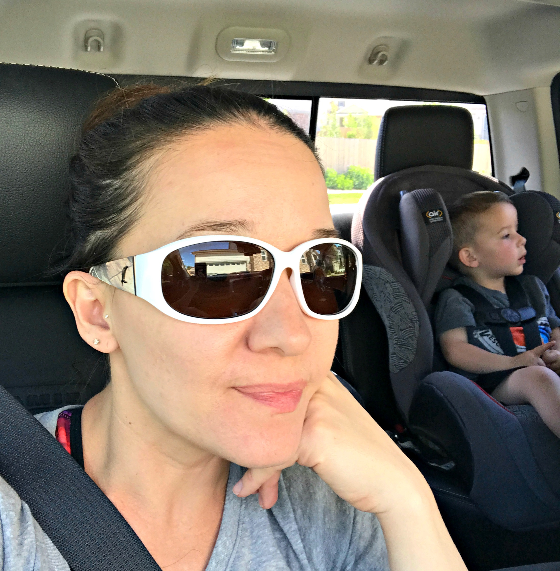 b87409bfa68d They re Xperio UV polarized sun lenses that both protect your eyes and  complete your style! (My current style is MOM Style…lol. Running around  town with my ...
