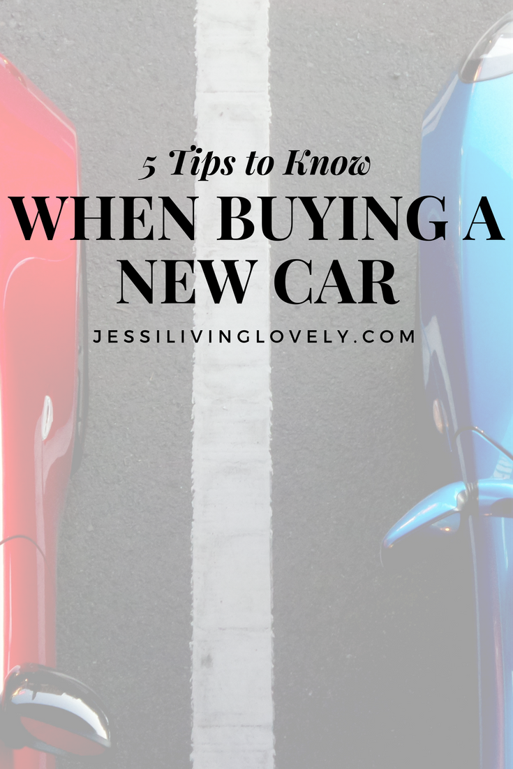 5 Tips When Buying a Car