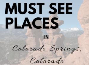 Top 5 Family Friendly Colorado Springs