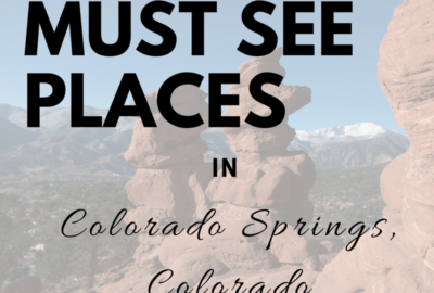 Top 5 Family Friendly Colorado Springs