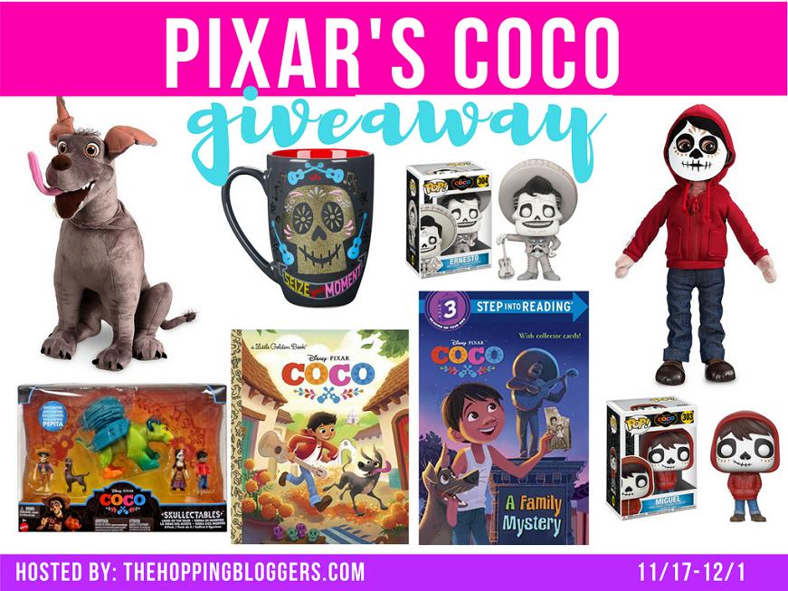 Pixar Coco Giveaway