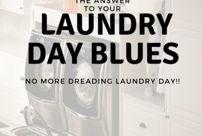The AnswerTo Laundry Day Blues