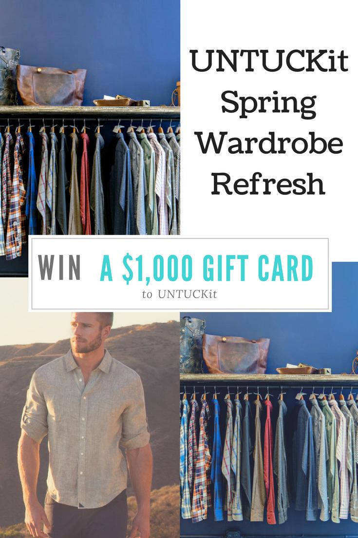 d3d1c076d39 UNTUCKit Spring Wardrobe Refresh + Win a  1