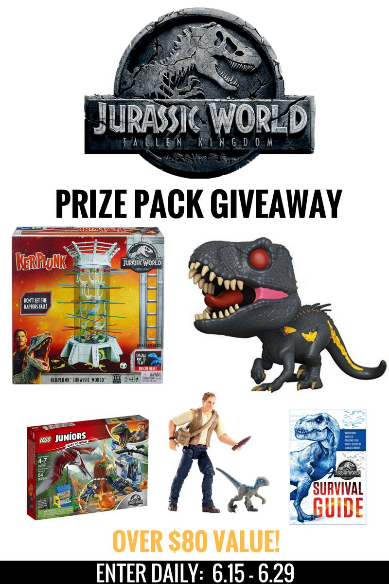 Jurassic world giveaway